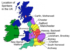 Map Of England Provinces.British Province The Spiritans